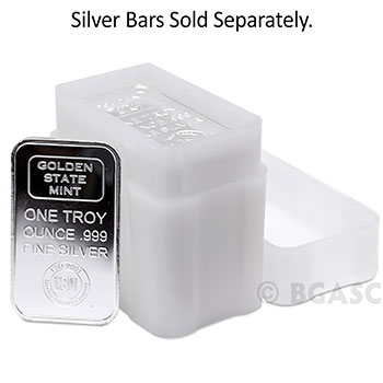 1 oz Silver Bar Tube - CoinSafe - Image