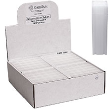 Bulk Dime Coin Tubes (10 Cent) - CoinSafe 18.1mm T-DIM-50100 - 100 Count Display Box