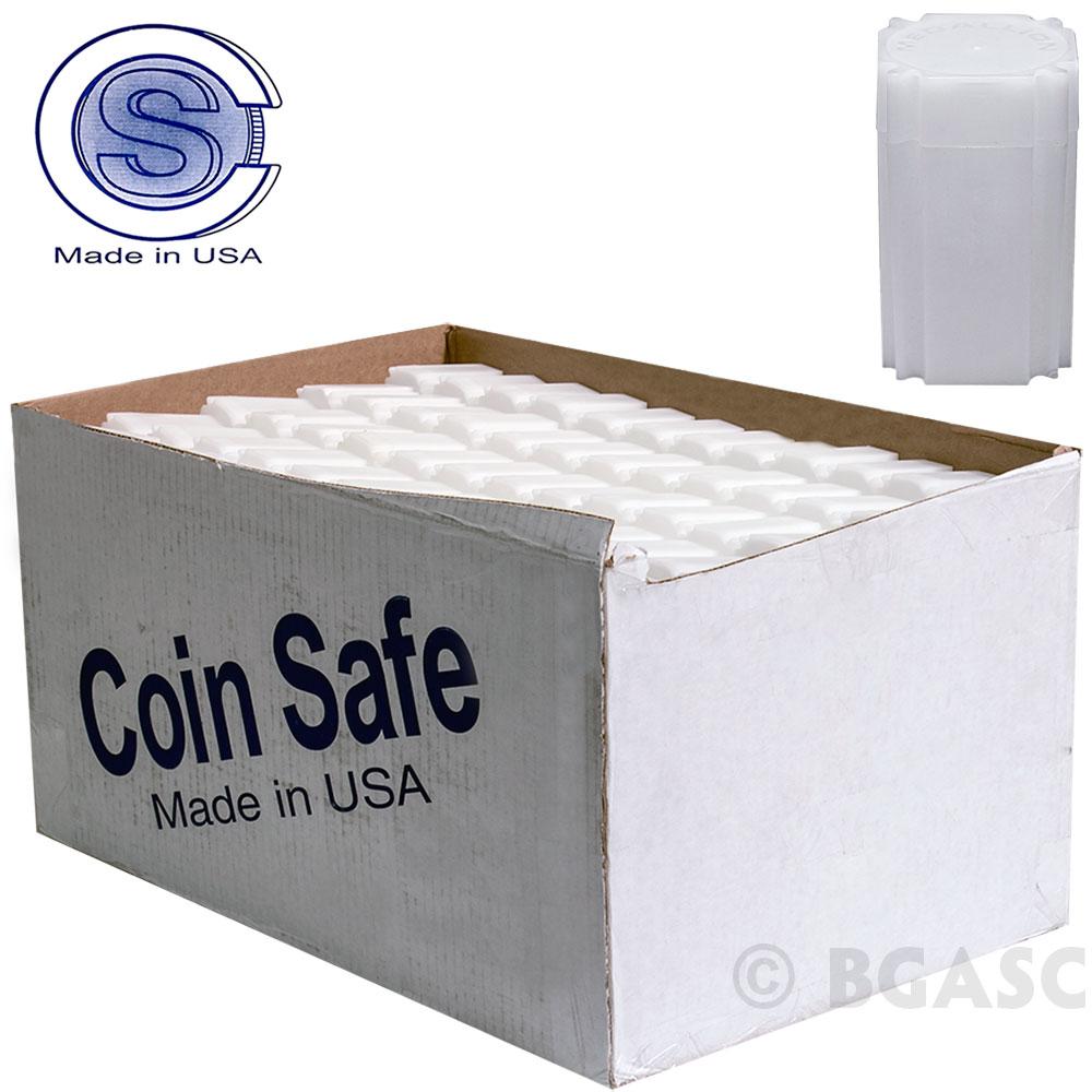Buy Bulk 1 Oz Medallion Silver Round Coin Tubes Coinsafe