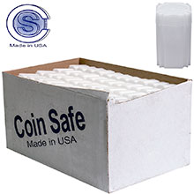 Bulk 1 oz Medallion Silver Round Coin Tubes - CoinSafe 39mm T-MED-20100 - 330 Count Case