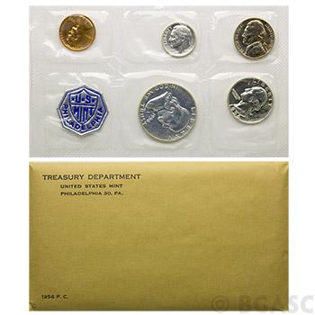1956 Unopened & Sealed US Silver Proof Set In Mint Envelope