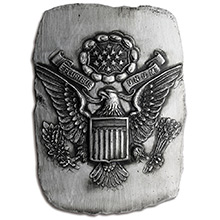 3 oz Silver Art Bar E Pluribus Unum Eagle MK BarZ .999 Fine (Limited Edition of 500)
