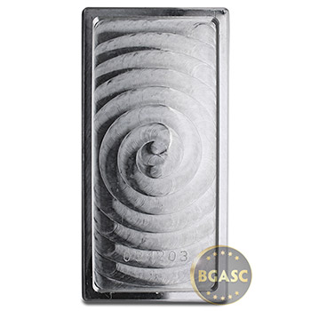 100 oz Silver Bar Academy .999 Fine Bullion Ingot Secondary Market - Image