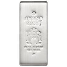 100 oz Silver Bar American Reserve .999 Fine Cast Bullion Ingot