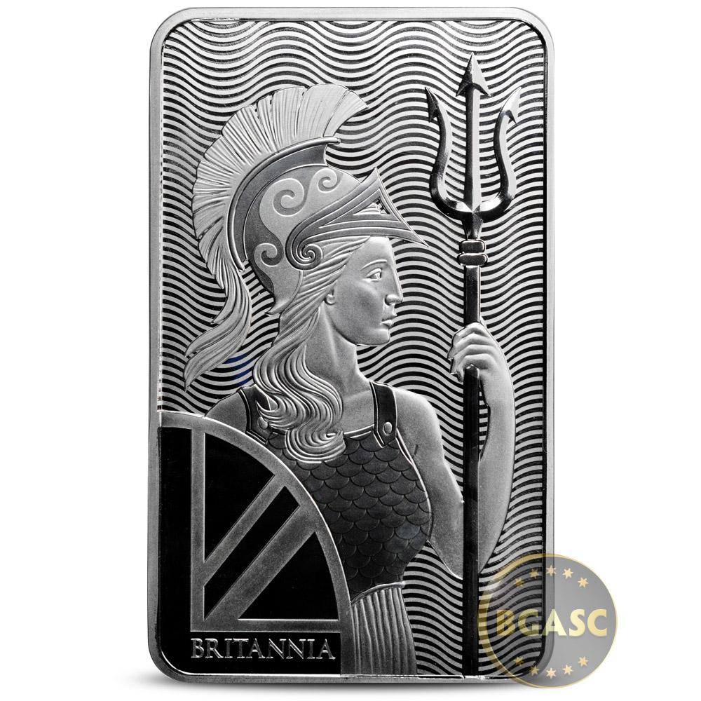 Buy 100 Oz Silver Bar Royal Mint Britannia 999 Fine