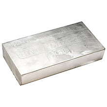 100 oz Silver Bar Engelhard .999+ Fine (Various Styles)