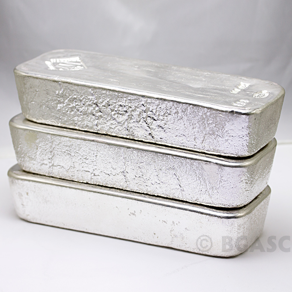 Buy 100 Oz Silver Bar Johnson Matthey 999 Fine Bullion
