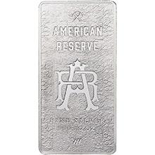 10 oz Silver Bars American Reserve .999 Fine Bullion Ingot
