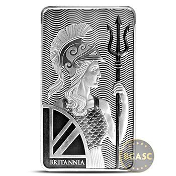 10 oz Silver Bars Royal Mint Britannia .999 Fine Bullion Ingot