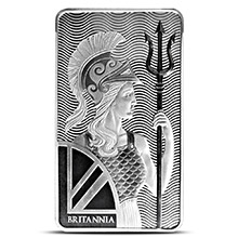 10 oz Silver Bars Royal Mint Britannia .999 Fine Bullion Ingot