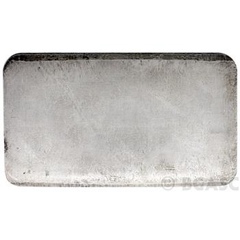 10 oz Engelhard Silver Bars .999+ Fine Pressed Loaf - Image