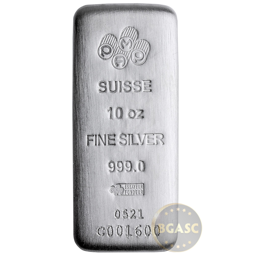 Buy 10 Oz Silver Bars Pamp Suisse Fortuna 999 Fine Art