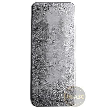 10 oz Silver Bar PAMP Suisse Cast .999 Fine Bullion Ingot - Image