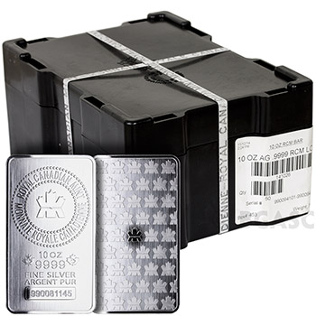 Buy Mint Sealed Monster Box Of 10 Oz Royal Canadian Mint