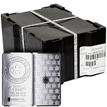 Mint Sealed Monster Box of 10 oz Royal Canadian Mint RCM Silver Bars .9999 Fine (50 Bars)