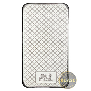 SilverTowne 10 oz Silver Bars Eagle Trademark Design .999 Fine Silver Bullion Ingot Ten Ounces - Image