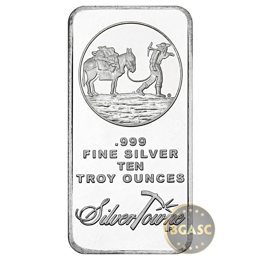 999 Fine Silver 10 Troy Ounces Value April 2019