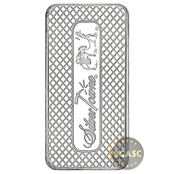 SilverTowne 10 oz Trademark Silver Bullion Bar .999 Fine Silver - Image