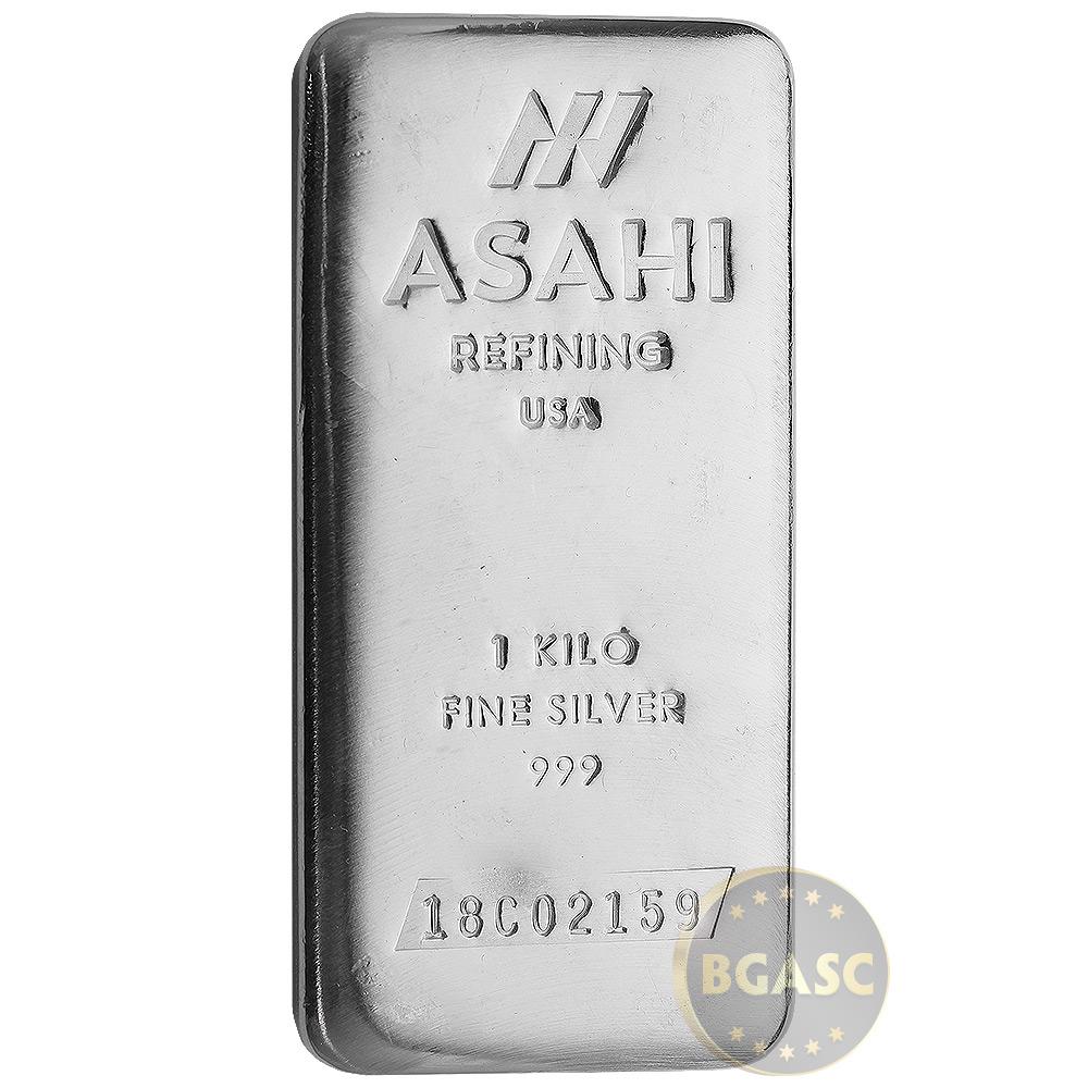 Buy 1 Kilo Silver Bar Asahi 32 15 Troy Oz 999 Fine