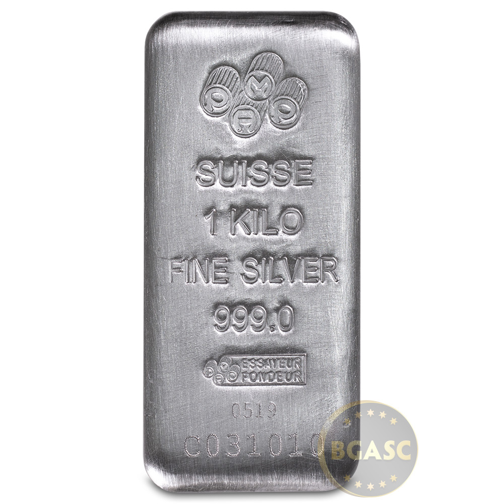 Buy 1 Kilo Silver Bar Pamp Suisse Fortuna 32 15 Troy Oz