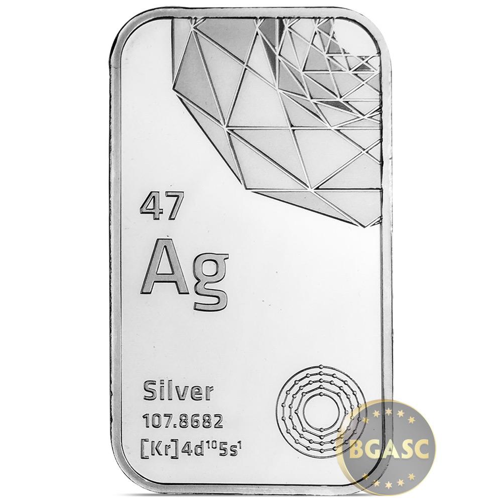 Buy 1 Oz Silver Bar Elemetal 999 Fine Bullion Ingot Special Liberty Walking 1oz