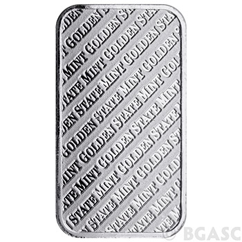 1 oz GSM Silver Bars Golden State Mint .999+ Fine Silver Bullion - Image