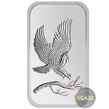 Monster Box of 1 oz SilverTowne Eagle Silver Bars Silver Bullion - Image
