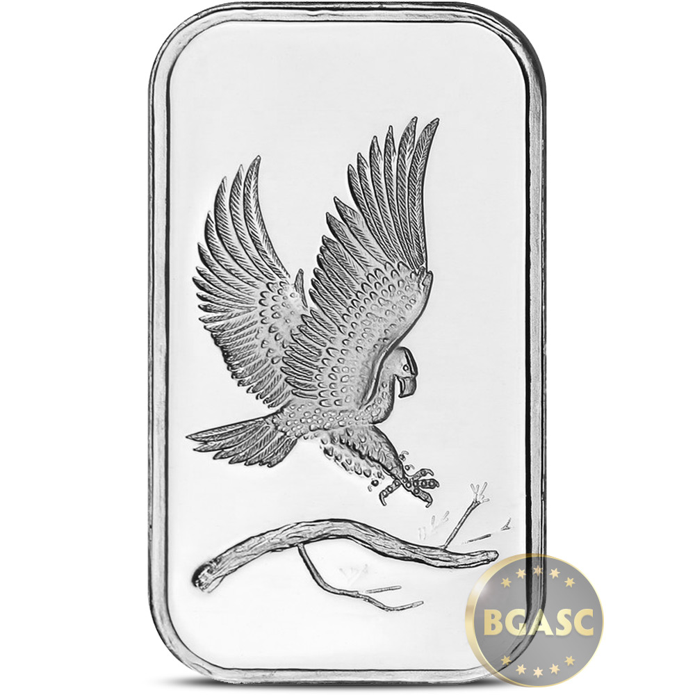 Buy 1 Oz Silver Bar Silvertowne Eagle 999 Fine Bullion