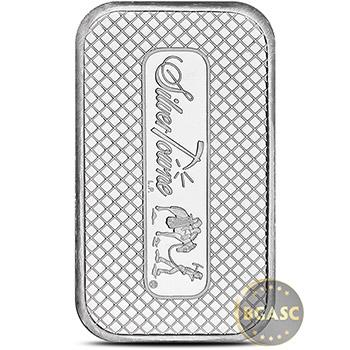 SilverTowne 1 oz Trademark Silver Bullion Bar .999 Fine Silver - Image