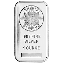 1 oz Silver Bar Sunshine Minting .999 Fine Bullion Ingot