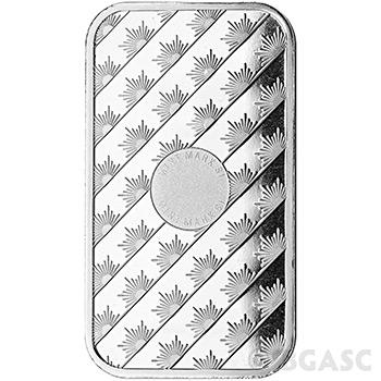 Sunshine Mint 1 oz Silver Bar Bullion Sealed .999 Fine Silver Ingot One Ounce - Image