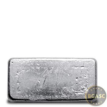 1 oz Silver Bars Yeager's Poured .999 Fine Bullion Loaf Ingot - Image