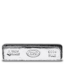 4 oz Silver Bars Yeager's Poured KITKAT .999 Fine Bullion Loaf Ingot