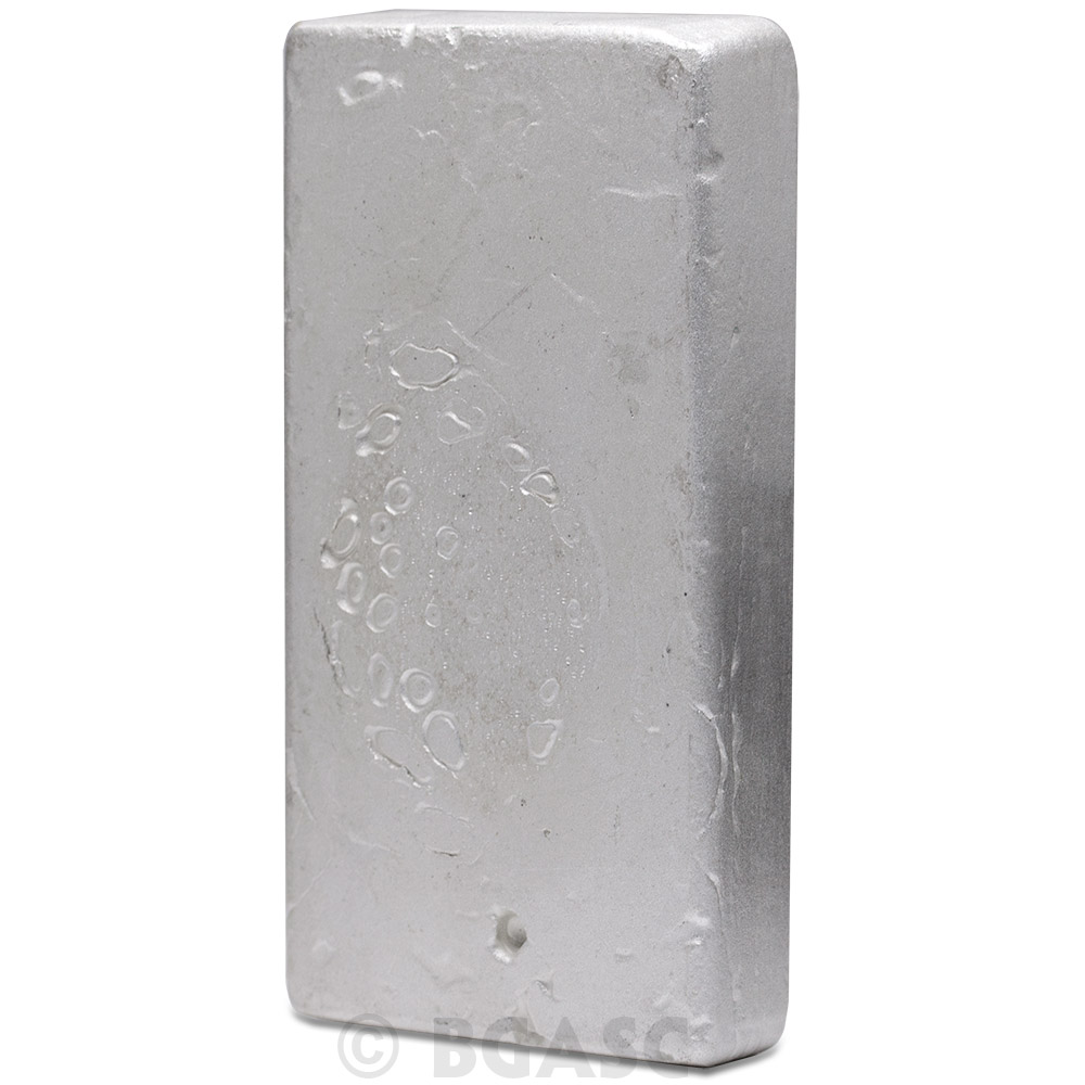 Buy 50 Oz Silver Bar Silvertowne Hand Poured 999 Fine