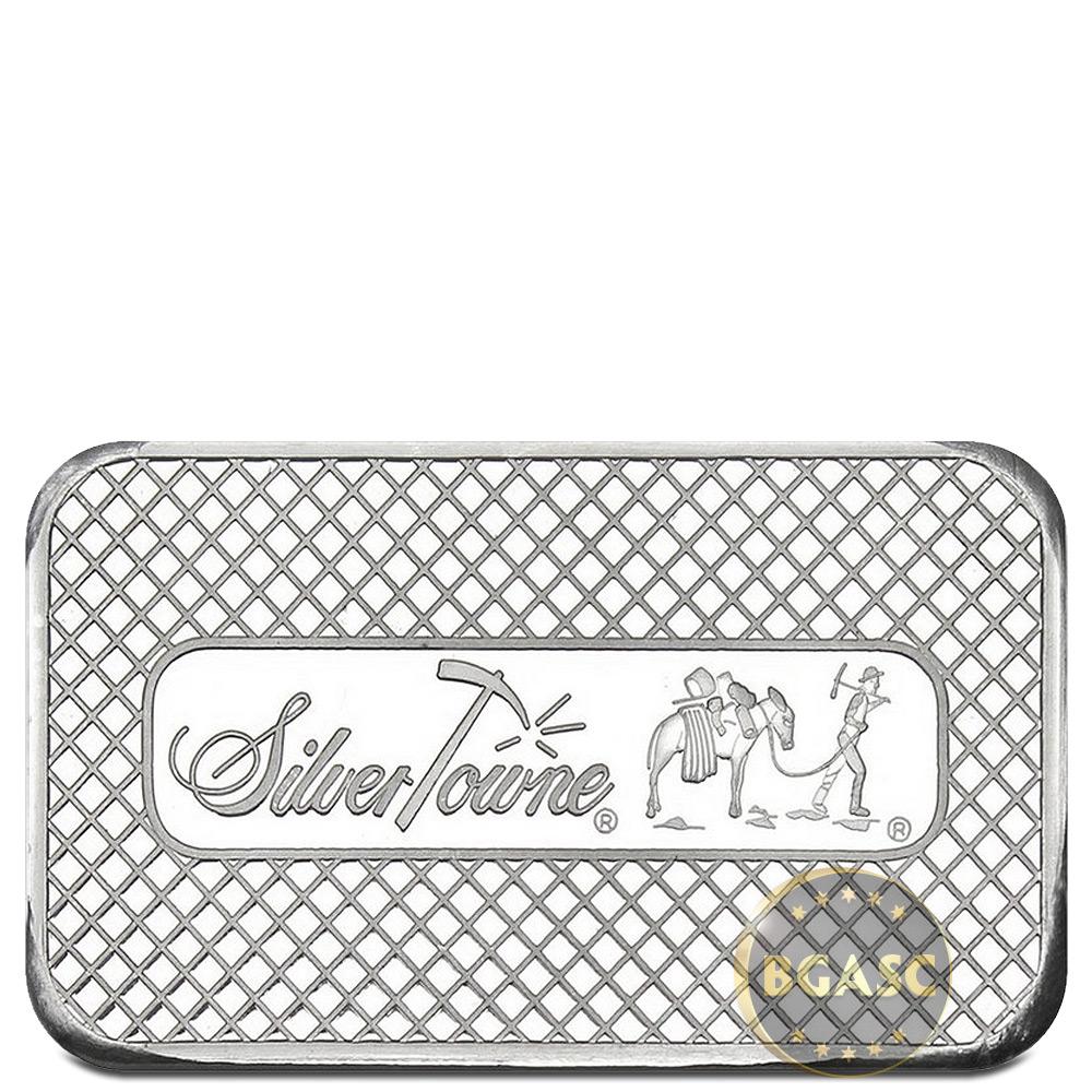 Buy 5 Oz Silver Bars Silvertowne Trademark Prospector 999