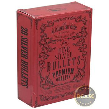 Buy 20 X 1 Oz Silver Bullets 45 Caliber Acp Box Set