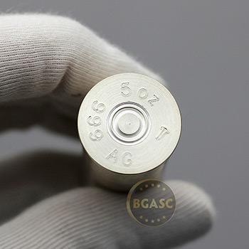 5 oz Silver Bullet - 12 Gauge Shotgun Shell - Image