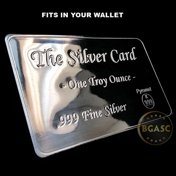 The Silver Card - One Troy Ounce .999 Fine Silver - Image