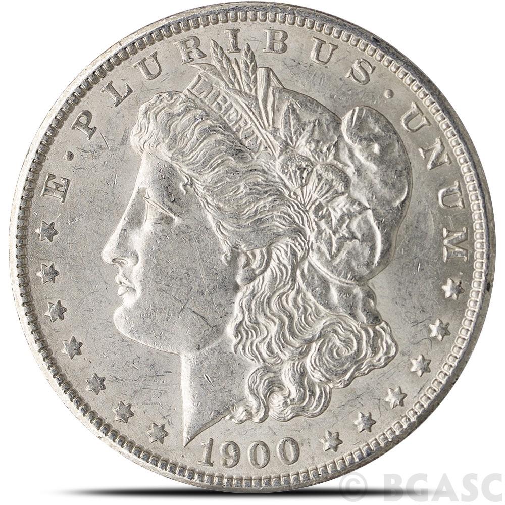 Buy Almost Uncirculated Pre 1921 Morgan Silver Dollars