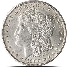 Almost Uncirculated Pre-1921 Morgan Silver Dollars 1878-1904 Silver Coins