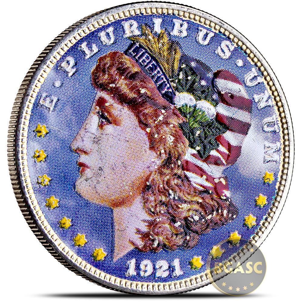 1 $1.00 1878-1921 Morgan Dollar Coin Classic 90/% Silver