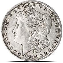 Fine - Extra Fine Pre-1921 Morgan Silver Dollars 1878-1904 Silver Coins