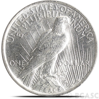 Uncirculated Peace Silver Dollar Silver Coins - Image