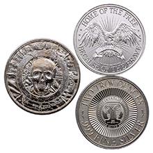 2 oz Silver Rounds - Secondary Market (Random Assorted)