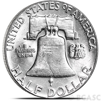90 Percent Silver Coins $0.50 Face Value in Franklin Half Dollars - Image