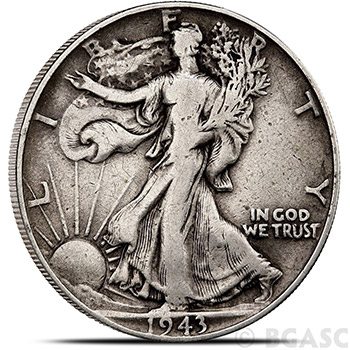 90% Silver Coin Walking Liberty Half Dollars $0.50 Face Value