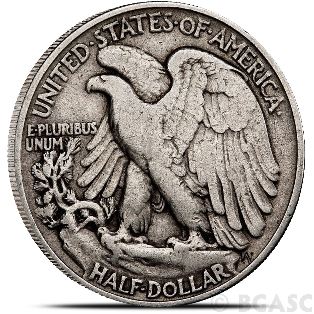 Buy 90 Silver Coin Walking Liberty Half Dollars 0 50