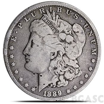 Morgan Silver Dollars - 90% Silver Coins Circulated Cull