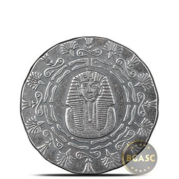1/4 oz Silver Rounds MPM Egyptian .999+ Fine Fractional Bullion (King Tut & Pyramid)