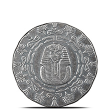 1/4 oz Silver Rounds MPM Egyptian .999+ Fine Fractional Bullion (King Tut & Pyramid)